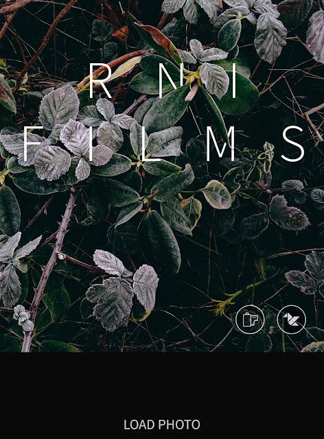 RNI Films Filter