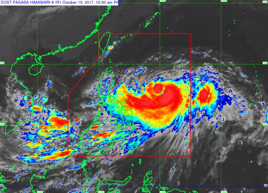 'Bagyong Paolo' PAGASA weather update October 19, 2017