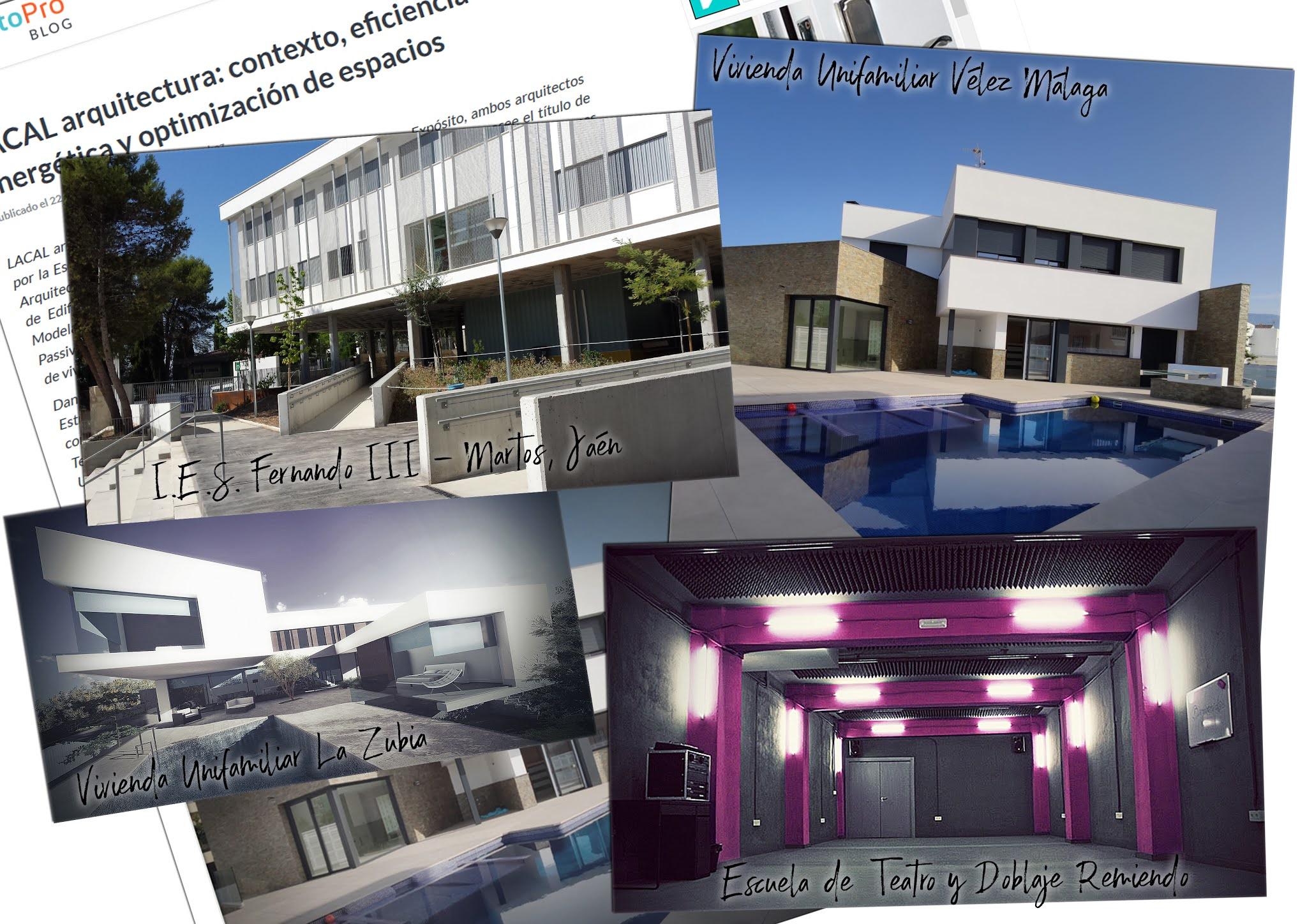 Arquitectos Granada. LACAL arquitectura. Javier Antonio Ros López, arquitecto. Daniel Cano Expósito, arquitecto. Entrevista ProntoPro LACAL arquitectura