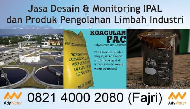 jual jasa pengolahan air limbah