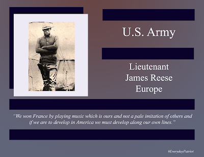 A short biopic of U.S. Army Lieutenant James Reese Europe WWI Veteran