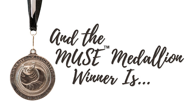 Screen shot of the MUSE Medallion winner from the CWA awards ceremony