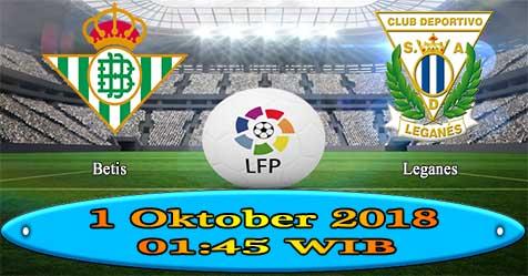 Prediksi Bola855 Betis vs Leganes 1 Oktober 2018