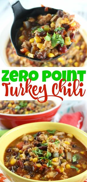 0 Point Turkey Chili