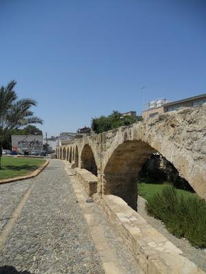 One Week in Cyprus Itinerary: Aqueduct in Nicosia