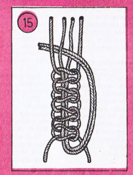 красивый узел макраме