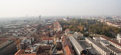 Panorama dalla Mole Antonelliana-Torino