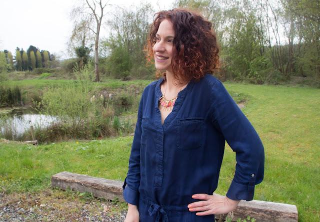 robe en jean promod