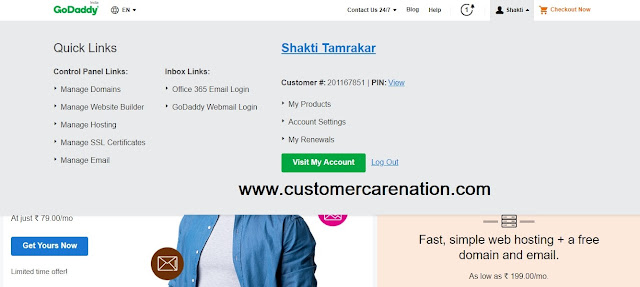 Blogger Me Custom Domain Kaise Add Kare (Godaddy) Latest Trick 2019