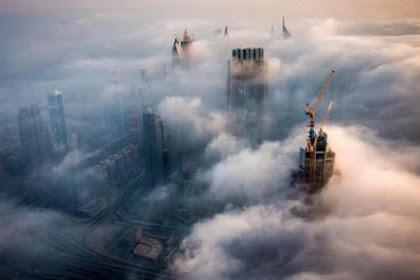 Fenomena Saat Dubai Jadi Negeri di Atas Awan