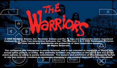 download Game PSP The Warriors ISO File Compress