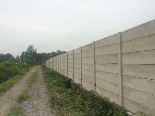 pagar beton precast di demak