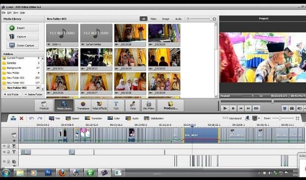 Aplikasi Edit Video PC AVS Video Editor