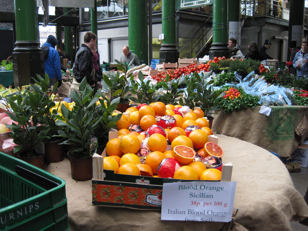 Borough Market Oranges