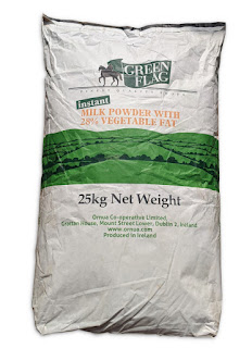 Green Flag Instant Milk Powder 25kg Bag on white background
