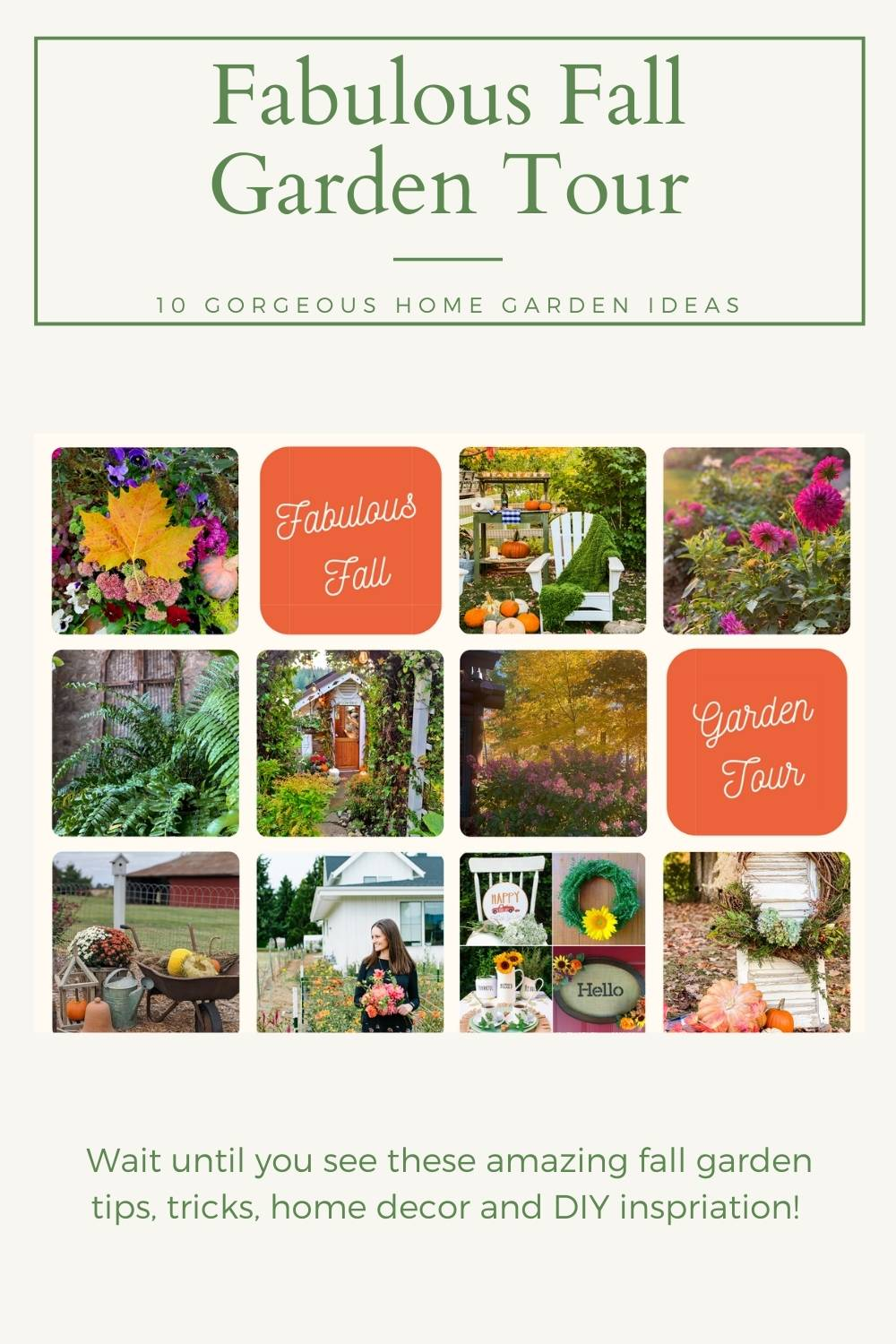Fabulous Fall Garden Tour