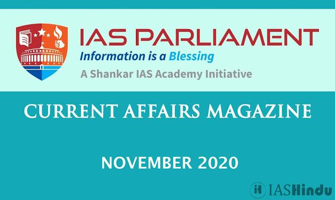 Current Affairs November 2020 iasparliament