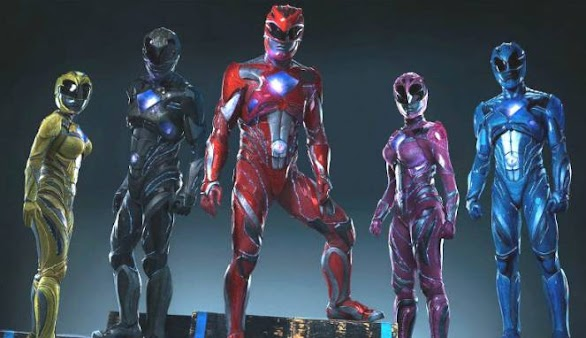 Power Rangers Movie 2017 Trailer Terbaru