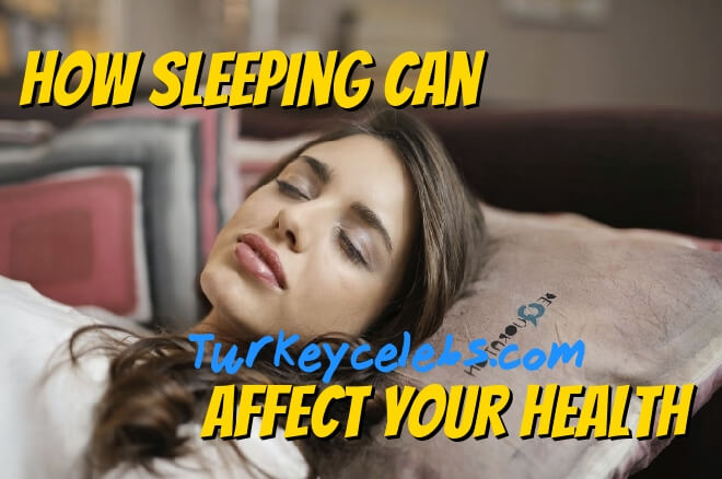 How sleeping can affect your health