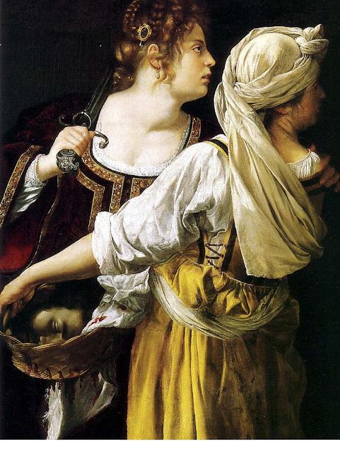 Chez Namaste Nancy: Artemisia Gentileschi. July 8, 1593 ...