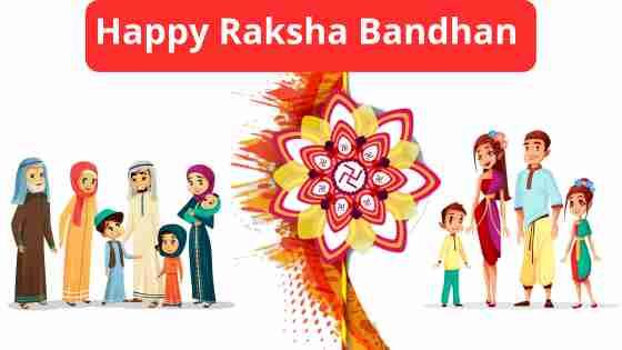 Happy rakhi bandhan