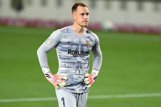 Ter Stegen has apologized to Barcelona Fans for poor performance Against Bayern Munich