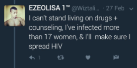 HIV Positive Nigerian Man Infects 17 Women, Promises To Infect More Befor He Dies 2