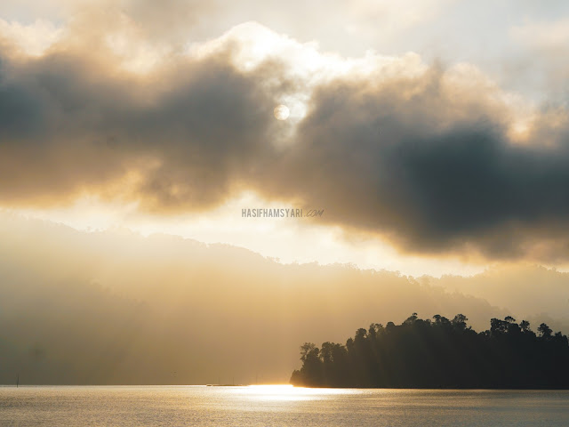 Sunrise di Royal Belum