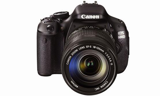 Harga dan Spesifikasi Kamera Digital Canon EOS 600D