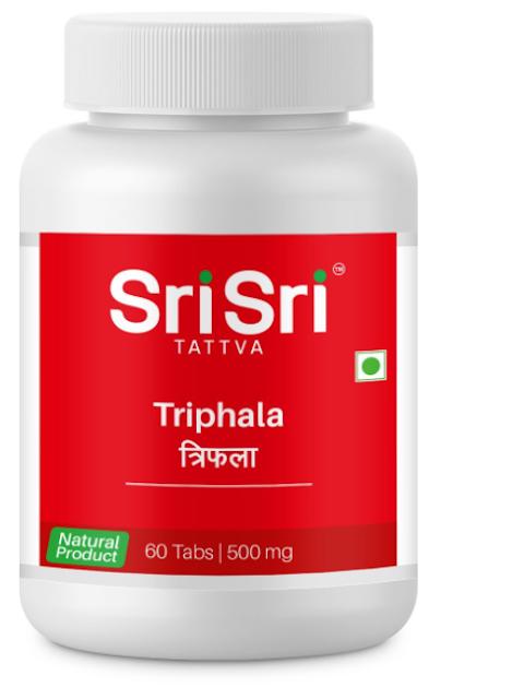 Sri Sri Tattva Triphala 500Mg Tablet - 60 Count