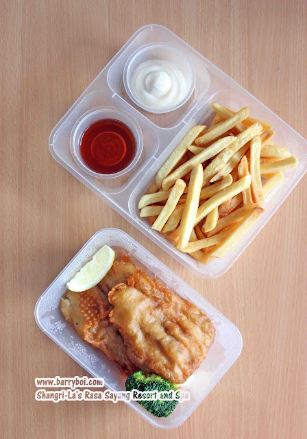 Shang Shack Drive-thru Pick Up by Shangri-La's Rasa Sayang Resort & Spa Penang Hotel Blogger Influencer Malaysia Makan Sedap Delicious Food Fish and Chips