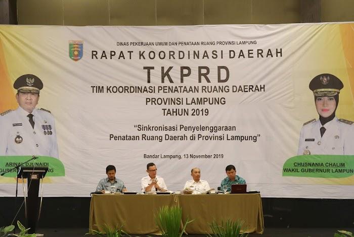 Buka Rakor Penataan Ruang, Sekdaprov Fahrizal Minta TKPRD Aktif Tanggapi Isu Dinamika Pembangunan Daerah