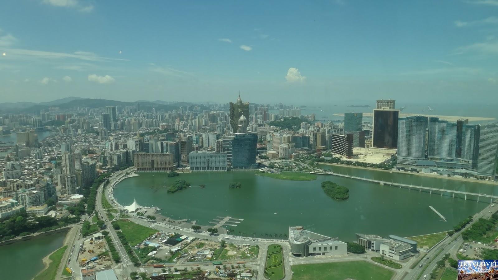 Chine China Macao Macau tour