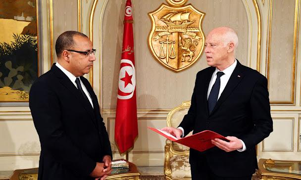hichem mechichi kais saied tunisie