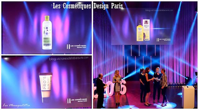 Lauréat Les Victoires de la Beauté 2015/2016 : Les Cosmétiques Design Paris - Les Mousquetettes©