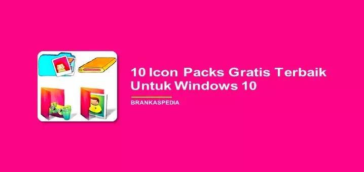 10 Icon Packs Gratis Terbaik Untuk Windows 10
