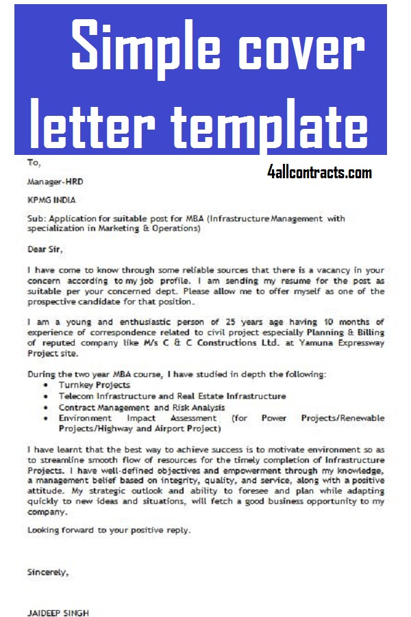 Simple Cover Letter Template Free from 1.bp.blogspot.com