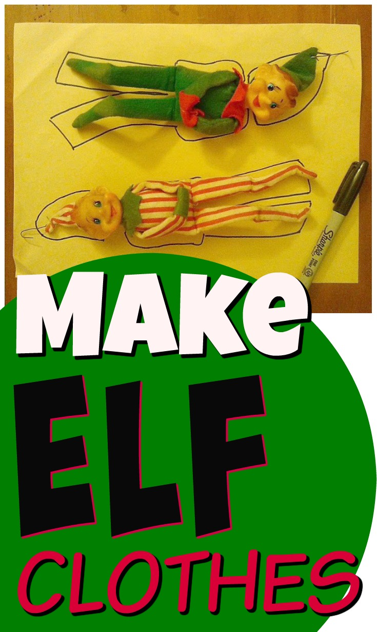 Elf on the Shelf Clothes Ideas