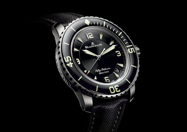Blancpain Fifty Fathoms Automatique in titanium