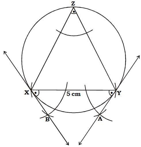 OMTEX CLASSES: 7. Draw a circle having radius 3 cm draw a