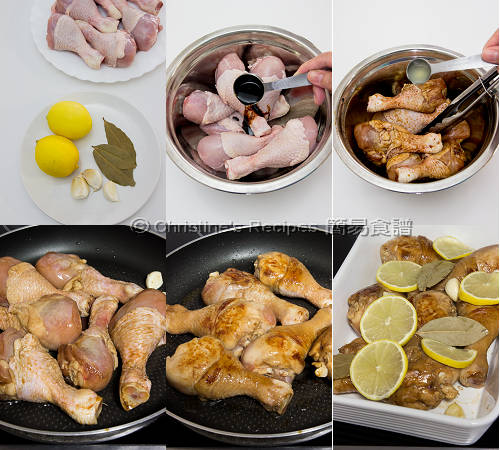 Baked Honey Lemon Chicken Drumsticks Procedures
