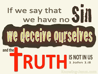 Self Justification - A Greater Sin?