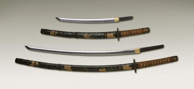 wakizashi katana japan sword