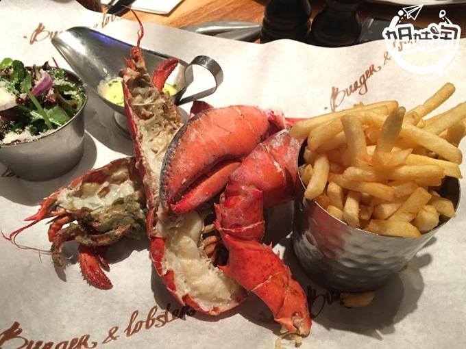 英國美食推薦-沒吃過Burger&Lobster,別說你來過倫敦