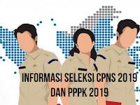 Siap - Siap !! Berikut Informasi Seleksi CPNS 2019 dan PPPK 2019