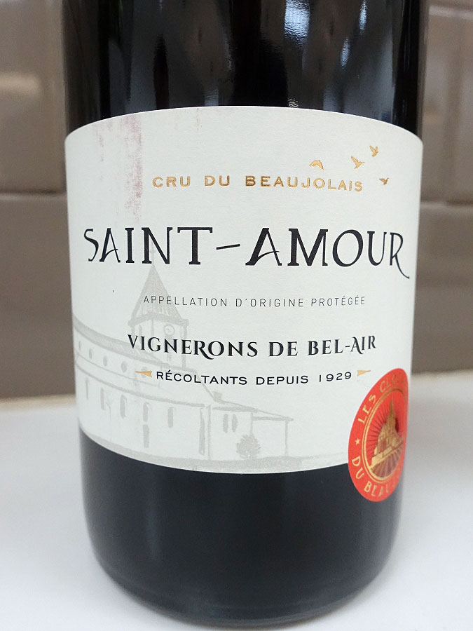 Bel-Air Clochers Saint-Amour 2017 (88 pts)