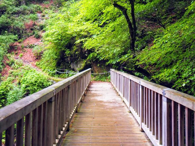 西沢渓谷 方丈橋