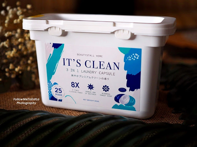 IT'S CLEAN 3 In 1 Laundry Capsule From BEAUTYSTALL
