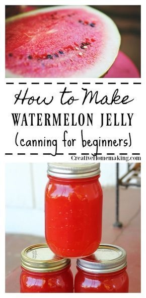 Watermelon Jelly Recipe