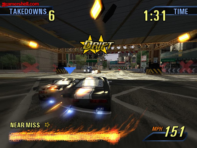 Burnout 3 Takedown PS2 GAME ISO Gameplay 1